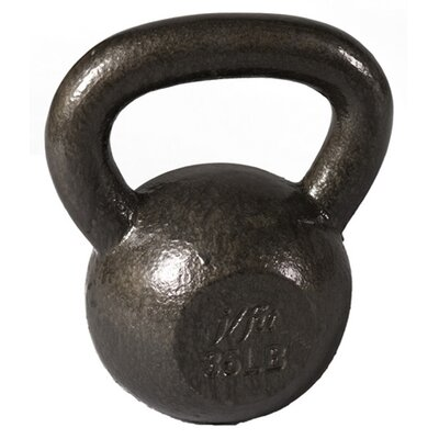 J Fit 40 lbs Cast Iron Kettlebell