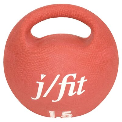 <strong>J Fit</strong> 3.3 lbs Premium Handle Medicine Ball
