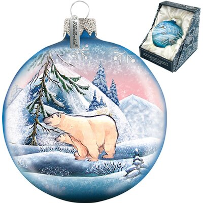 Polar Ice Ball Ornament
