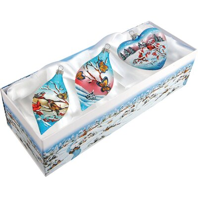 3 Piece Sing Song Ornament Set