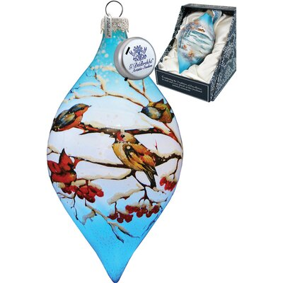 Led Winterbird Drop Ornament