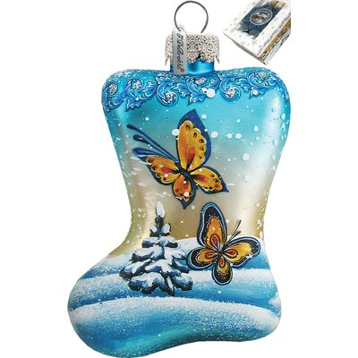 G Debrekht Butterfly Stoking Ornament