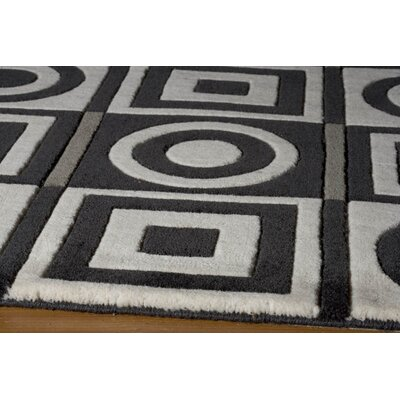 Momeni Elements Black/White Rug