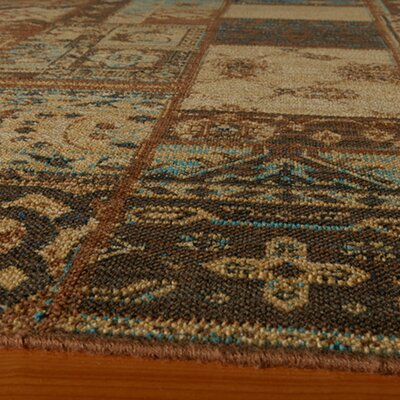 Momeni Vintage Light Blue Patchwork Rug