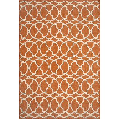 Momeni Baja Orange Indoor/Outdoor Rug