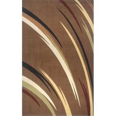 Momeni Elements Brown Rug