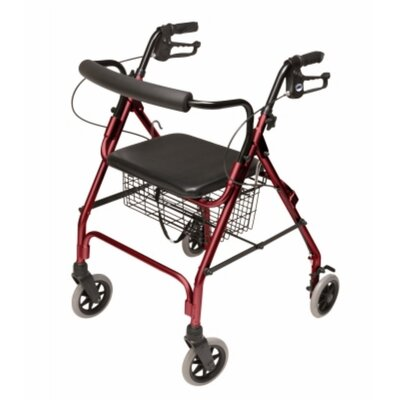 Lumex Walkabout Lite Four-Wheel Rollator