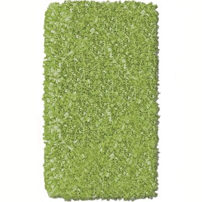 The Rug Market Shaggy Raggy Lime Rug