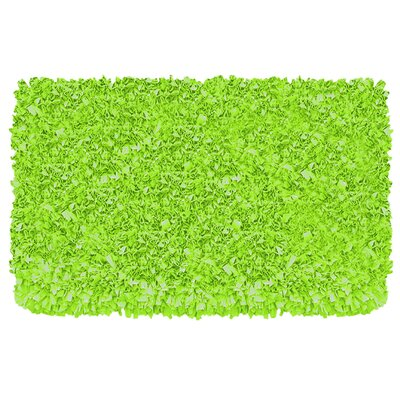 Wildon Home ® Shaggy Raggy Lime Rug
