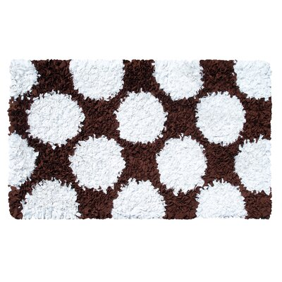 The Rug Market Polkamania Brown/White Kids Rug