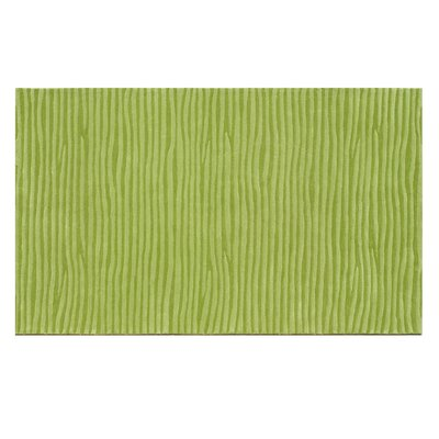 The Rug Market Ecconox Wavy Green Rug