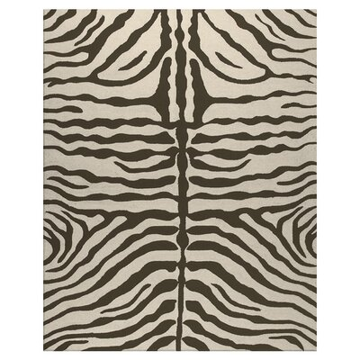The Rug Market Resort Brown Zebra Rug