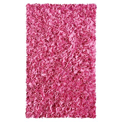 The Rug Market Shaggy Raggy Bubble Gum Rug