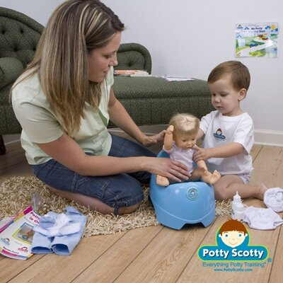 Mom Innovations Potty Training in One Day - The Potty Scotty Kit with DVD
