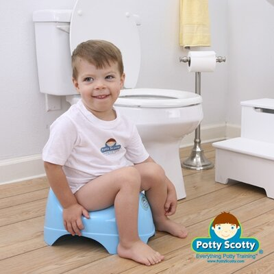 Mom Innovations The Potty Scotty Potty Chair in Blue