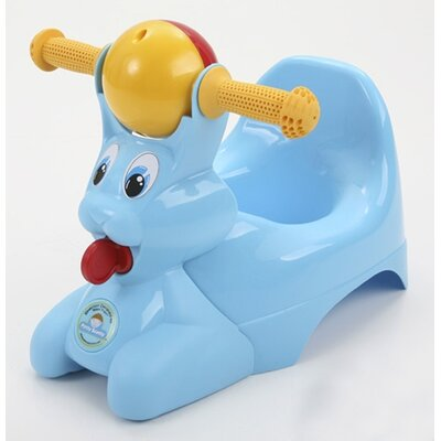 Mom Innovations The Potty Scotty Riding Potty Chair in Blue