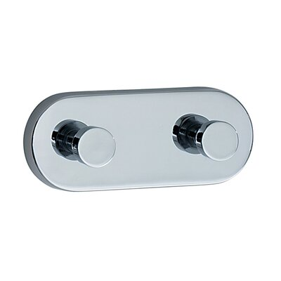 Smedbo Loft Double Wall Mounted Towel Hook