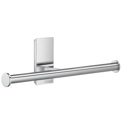 Smedbo Spare Double Toilet Paper Holder in Polished Chrome
