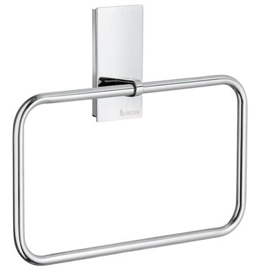 Smedbo Pool Towel Ring in Polished Chrome