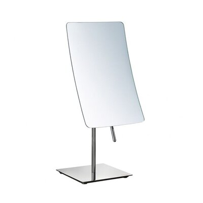 "Smedbo Outline 12.5"" x 5"" Mirror in Polished Chrome"