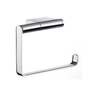 Smedbo Air Toilet Paper Holder in Polished Chrome