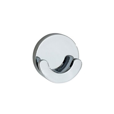 Smedbo Loft Crescent-Shaped Double Towel Hook