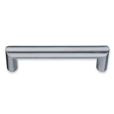 Beslagsboden Rectangular Drawer Pull in Brushed Chrome
