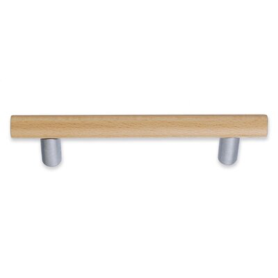 Smedbo Beslagsboden Beech Drawer Pull in Brushed Chrome
