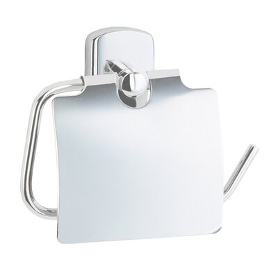 Smedbo Cabin Wall Mounted Euro Toilet Roll Holder