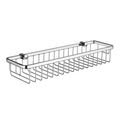 Smedbo Sideline Rectangular Soap Basket in Polished Chrome