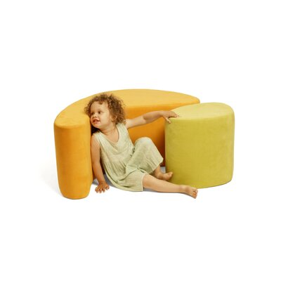 Iglooplay Tea Pod Chair and Ottoman Set