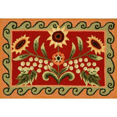 Homefires Tuscan Sunflower and Poppy Rug