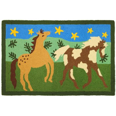 Homefires Happy Horses Rug