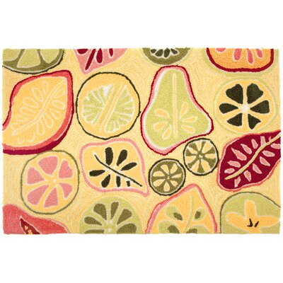 Kitchen Carefree Mod Fruit Novelty Rug