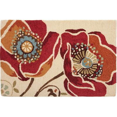 Homefires Moroccan Red Novelty Rug
