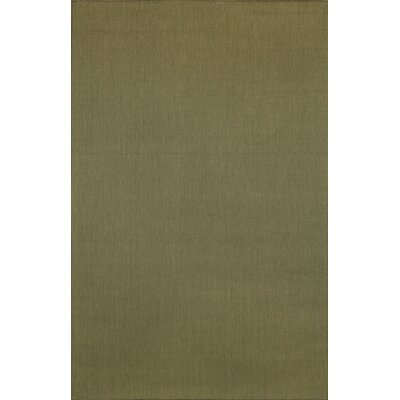 Trans-Ocean Rug Terrace Plain Moss Indoor / Outdoor Rug