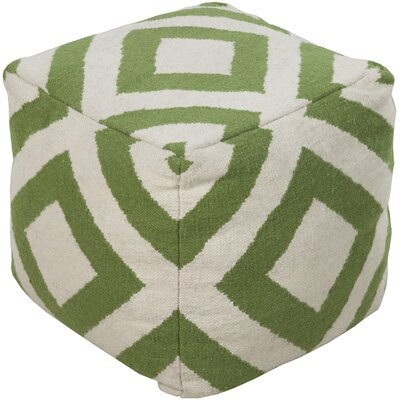 Surya Delight Diamond Pouf Ottoman