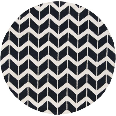 Surya Fallon Ink Chevron Rug