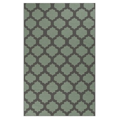 <strong>Surya</strong> Frontier Charcoal Gray/Pale Green Rug