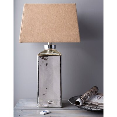 """Surya Harvey 29"""" H Table Lamp with Square Shade"""
