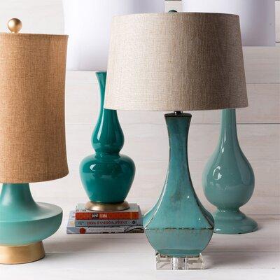 "Surya Machiko 30"" H Table Lamp with Empire Shade"