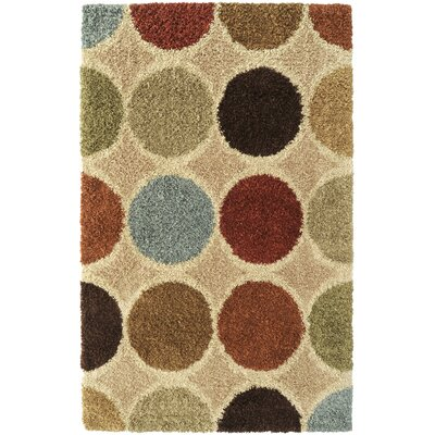 Surya Concepts Circle Beige Multi Rug