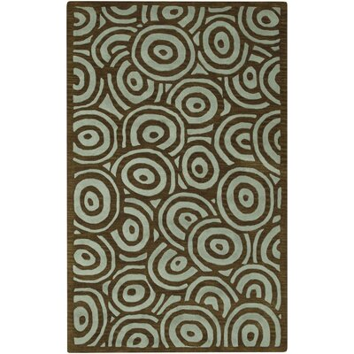 Artist Studio Brown/Spa Blue Rug