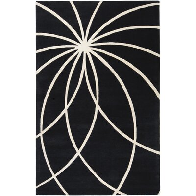 Surya Forum Black Rug