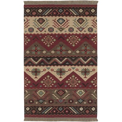 Jewel Tone Red Rug
