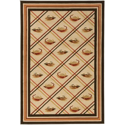 Surya Rug Big Sky Red/Chocolate Novelty Rug