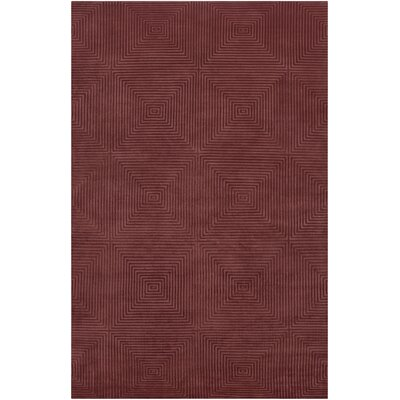 Luminous Raspberry / Silver Raspberry Contemporary Rug