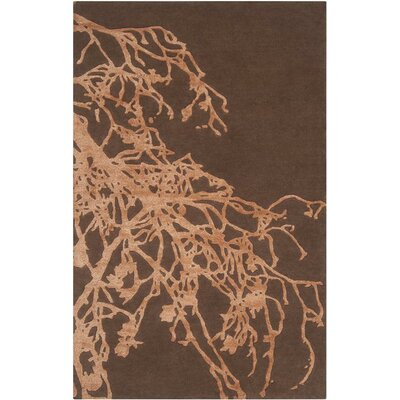 Surya Modern Classics Dark Chocolate/Adobe Rug