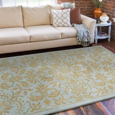 Surya Bombay Pale Blue/Golden Tan Rug