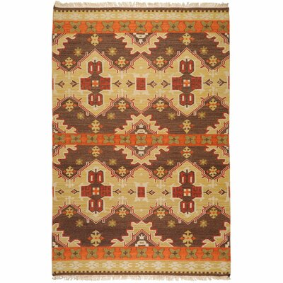 Surya Jewel Tone II Chocolate/Orange Rug